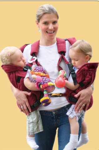 Twintrexx Baby Carrier Twin Nanny Vee